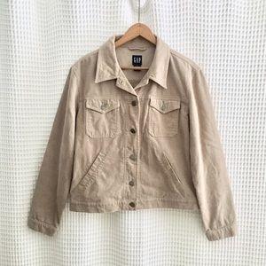 GAP Corduroy Cotton Button Jacket • M